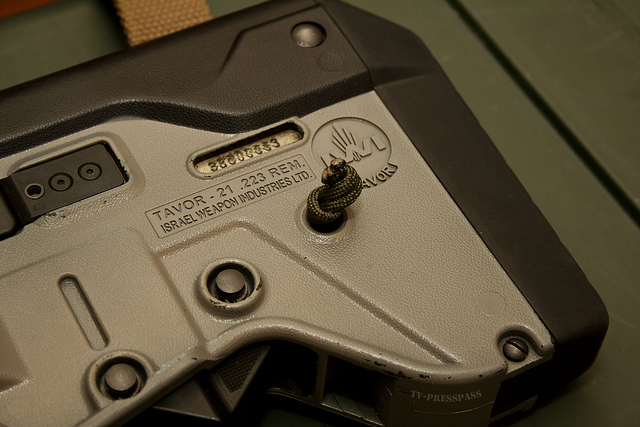 Rear Tavor Sling Mount Knot