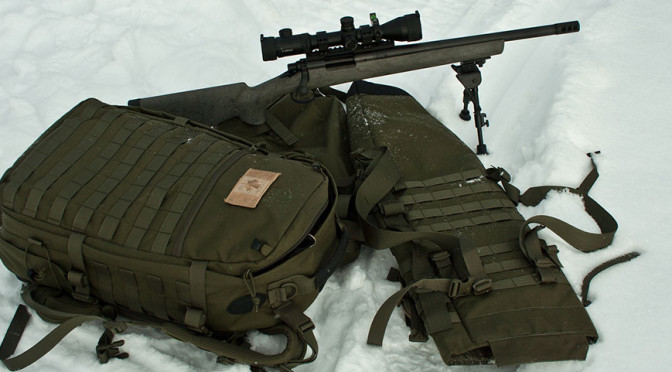 Tasmanian Tiger Trojan Rifle Carrier Pack