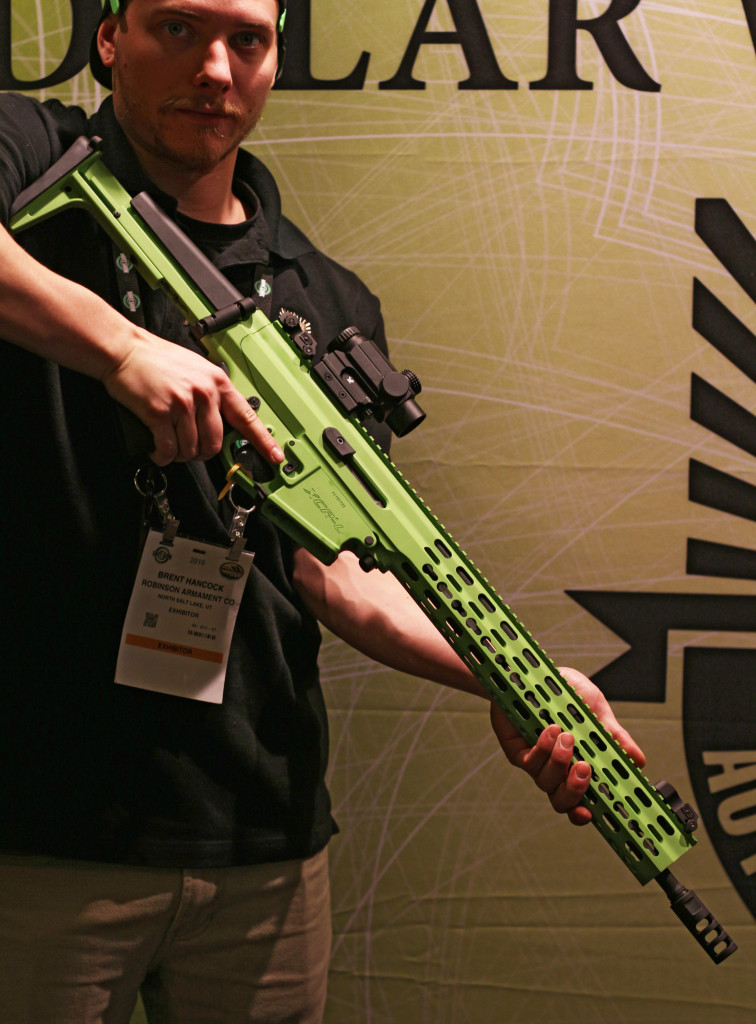 Lime Green XCR Extended Handguard