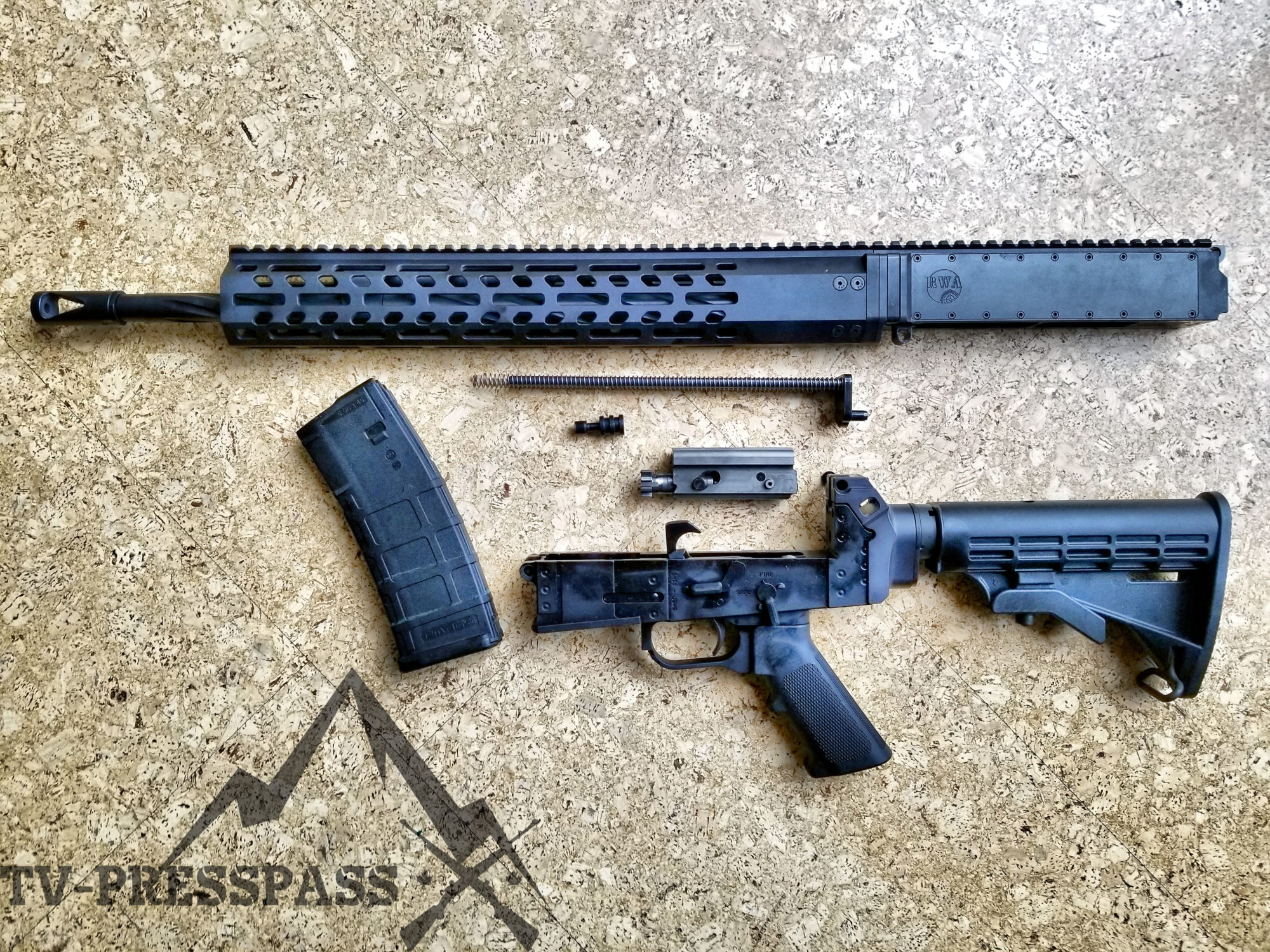 REVIEW – Range Warrior Accessories AR180B Rifle – TV-PressPass