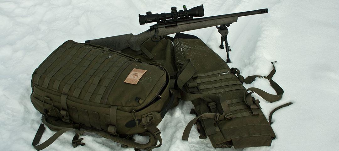 Tasmanian Tiger Trojan Rifle Carrier Pack